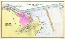 Newport, Lauckport and Vicinity, Wood County 1886